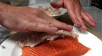 Watch Chefs Specials - Applewood Bacon Crusted King Salmon Online