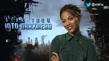 Watch HitFix - Star Trek Into Darkness: Zoe Saldana Interview Online
