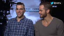 Watch HitFix - Star Trek Into Darkness: Chris Pine & Zachary Quinto Online