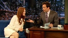 Watch Late Night with Jimmy Fallon - Julianne Moore On Huey Lewis Love Songs and