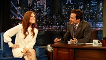 Watch Late Night with Jimmy Fallon - Julianne Moore Talks