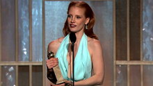Watch The Golden Globe Awards - Best Actress, Motion Picture, Drama: Jessica Chastain Online