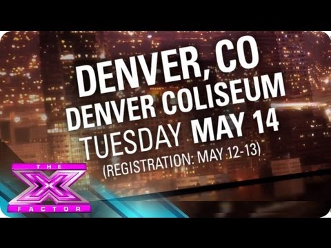 Watch The X Factor - Audition for THE X FACTOR in Denver! - THE X FACTOR 2013 Online