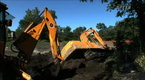 Watch Wrecked  - Backhoe in the Mud Online