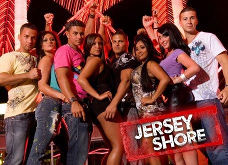 jersey shore girls cast. The cast of quot;Jersey Shorequot; has