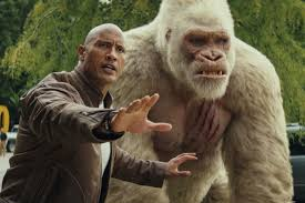 'Rampage' Wins a Bumpy Weekend