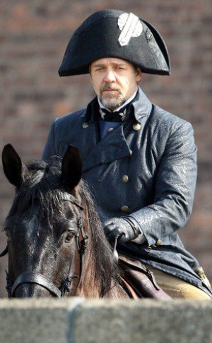 Les Miserables' Shooting Russel Crowe