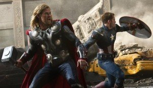 New 'Avengers' Photos Feature Fightin' Captain America and Thor