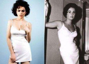 First Look: Lindsay Lohan As Elizabeth Taylor