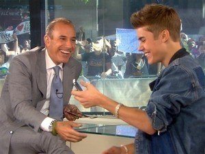 Justin Bieber Brings The Fangirl Insanity To 'Today'