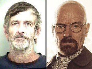 Walter White Breaks Bad, Faces Meth Charges....Seriously