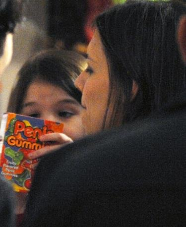 They Grow Up So Fast: Suri Cruise Snatches Adult Rated Gummies