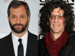 Howard Stern and Judd Apatow