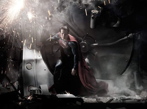 The New Superman: Get a First Look at Henry Cavill as the 'Man of Steel'