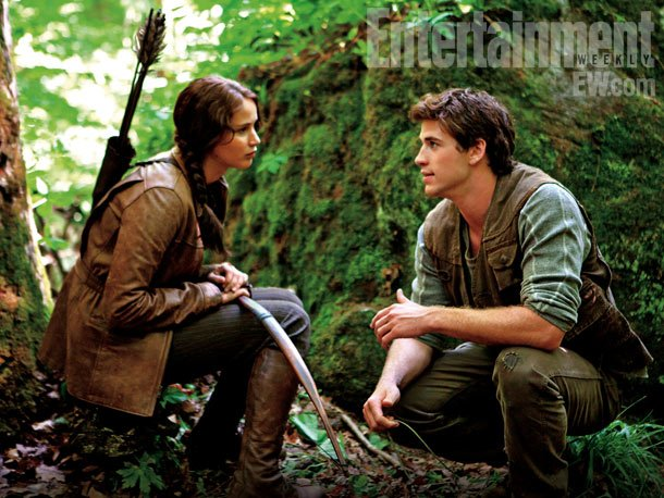 The Hunger Games, Jennifer Lawrence | Director Gary Ross on Hemsworth , here with Jennifer Lawrence as Katniss: ''On first glance he's such a hunk that it's easy to ascribe a…