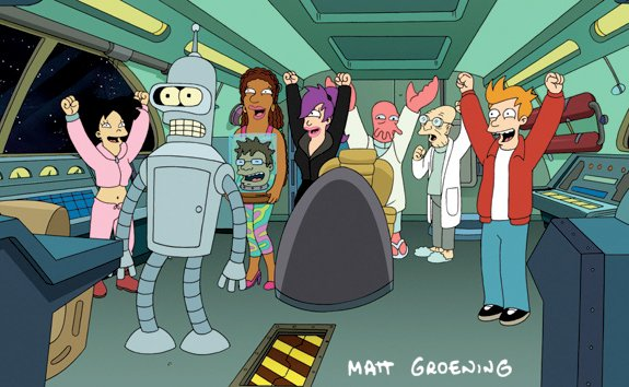 Huzzah! 'Futurama' Renewed for 26 Episodes!