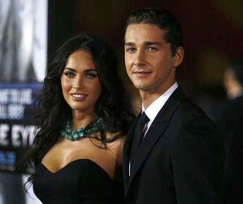 shia labeouf and megan fox. LaBeouf talked about the