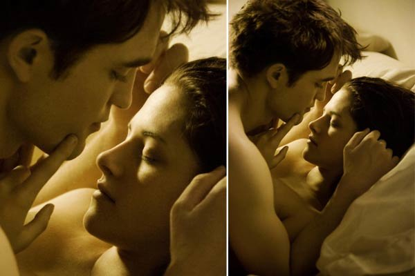 The Twilight Saga: Breaking Dawn - Watch 'Breaking Dawn' Sex Scene Footage -